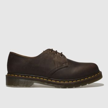 Dr Martens Brown 1461 Crazyhorse Mens Shoes
