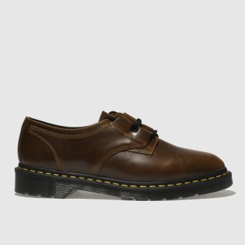 Dr Martens Brown 1461 Ghillie Aqua Glide Mens Shoes