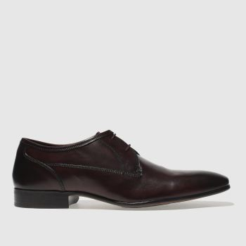 Ikon Burgundy Bowles Gibson Mens Shoes
