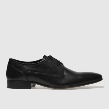 Ikon Black Bowles Gibson Mens Shoes