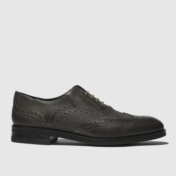Ted Baker Dark Grey Almhano Mens Shoes