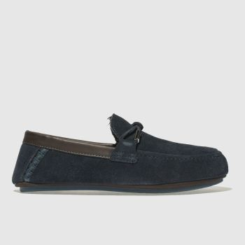 Ted Baker Blue Valcent Mens Slippers