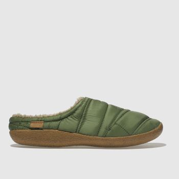 Toms Green Berkeley Slipper Quilted Mens Slippers