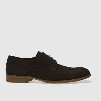 Schuh Dark Brown Troy Gibson Mens Shoes
