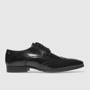 Base London Black Clyde Mens Shoes