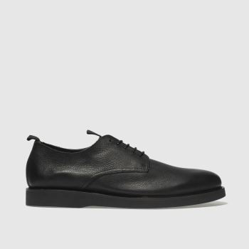 H By Hudson Black Barnstable Mens Shoes