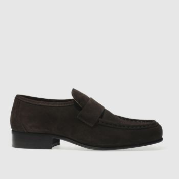 Schuh Brown Argent Stax Mens Shoes
