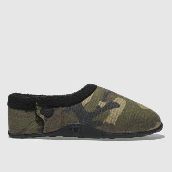 Homeys Khaki Tommy Mens Slippers
