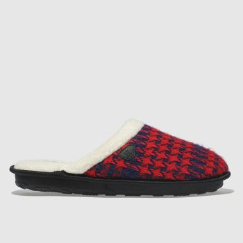 Homeys Red Jasper Mens Slippers