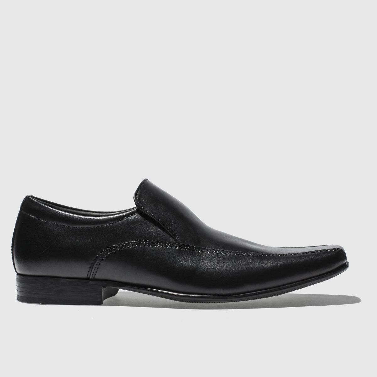 Ikon Black English Iii Slip Shoes