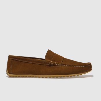 Schuh Tan Mario Driver Mens Shoes
