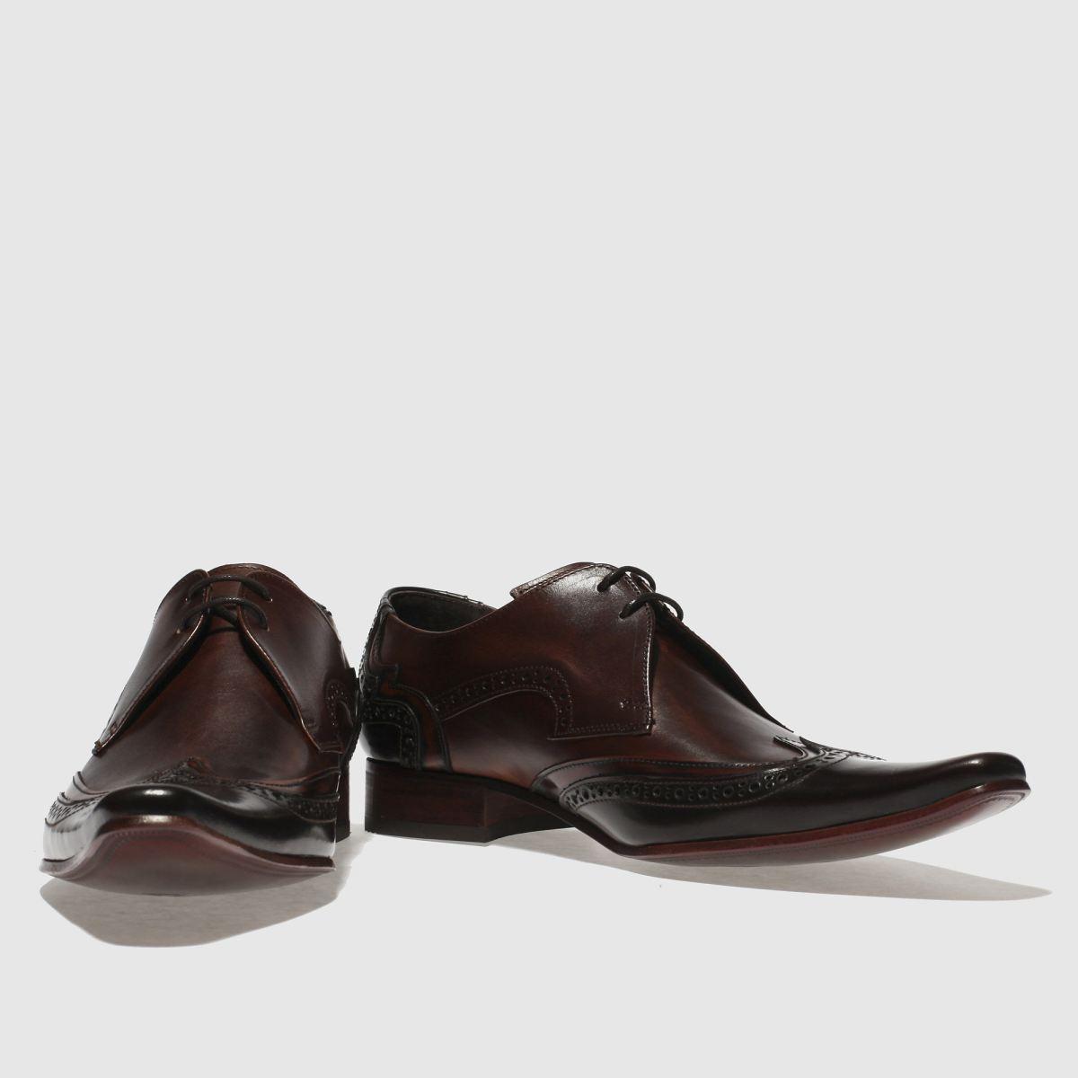 Herren Dunkelbraun jeffery west Pino Brogue Schuhe | Schuhe schuh Gute Qualität beliebte Schuhe | 87da22