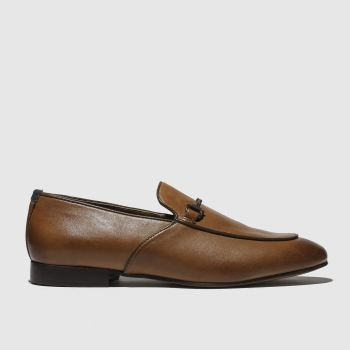 H By Hudson Tan Carmarthen Mens Shoes from Schuh