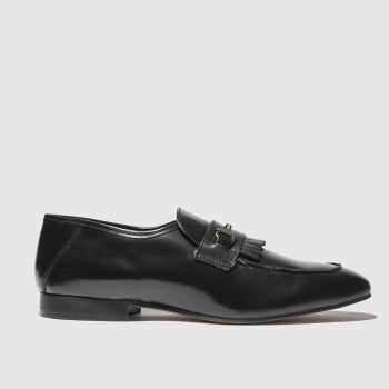 H By Hudson Black Chichester Mens Shoes