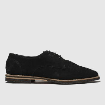 H By Hudson Black Chatra Mens Shoes