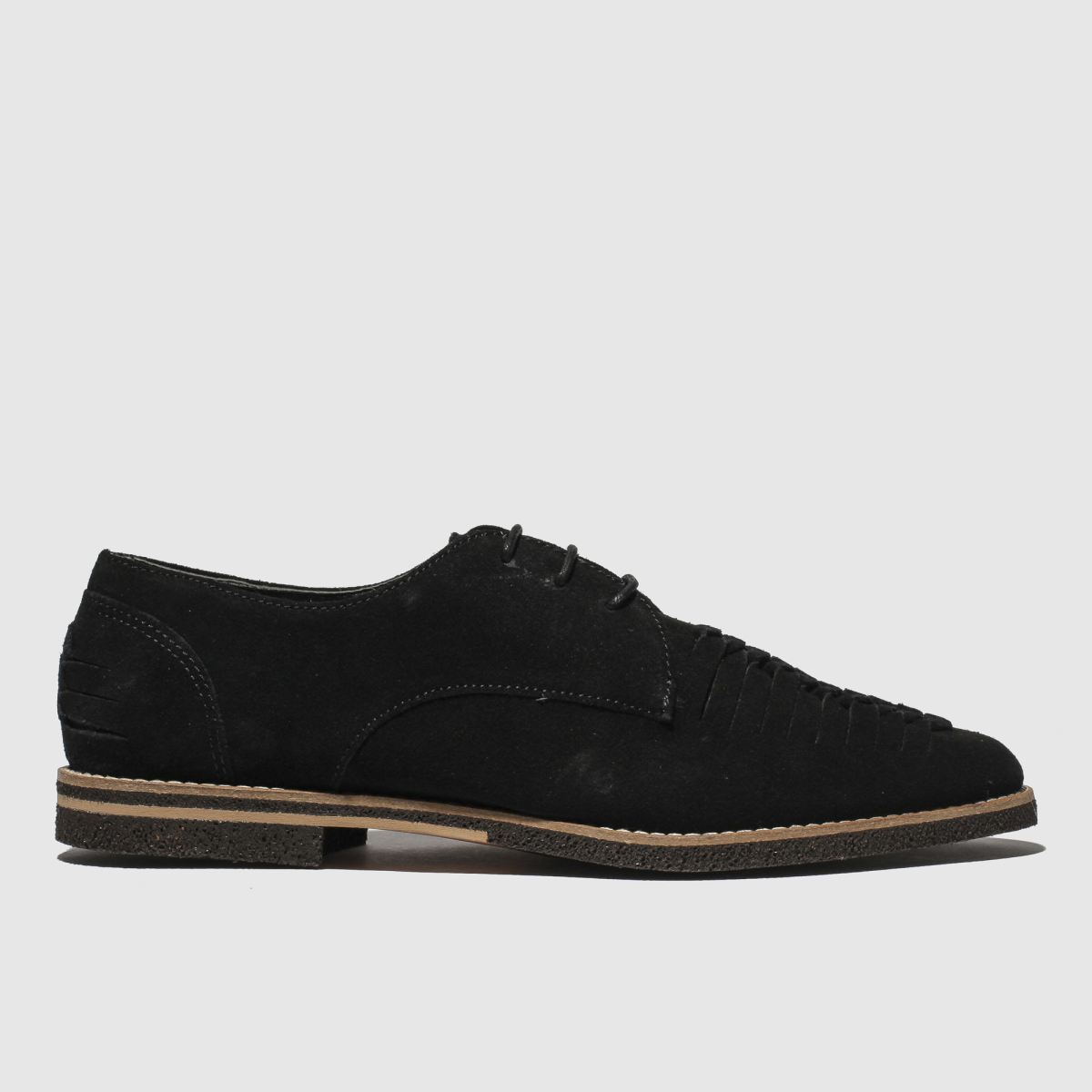 H By Hudson Black Chatra Shoes