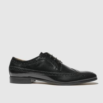 H By Hudson Black Crowthorne Mens Shoes