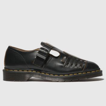 Dr Martens Black Mica Mens Shoes