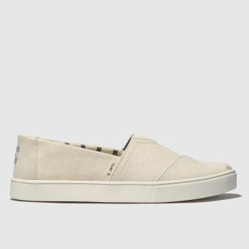 Toms Natural Alpargata Cupsole Mens Shoes
