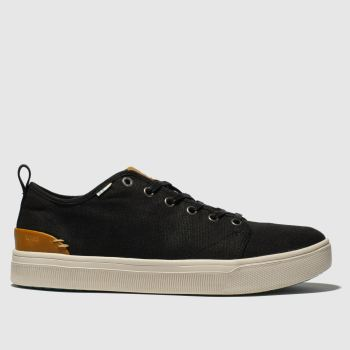 Toms Black Trvl Lite Low Mens Shoes