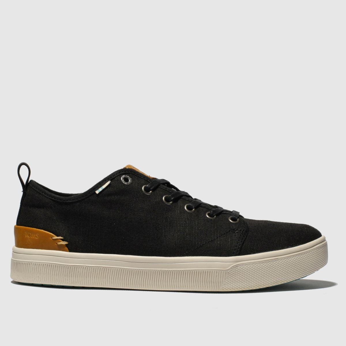 Toms Black Trvl Lite Low Shoes
