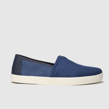 Toms Blue Avalon Mens Shoes