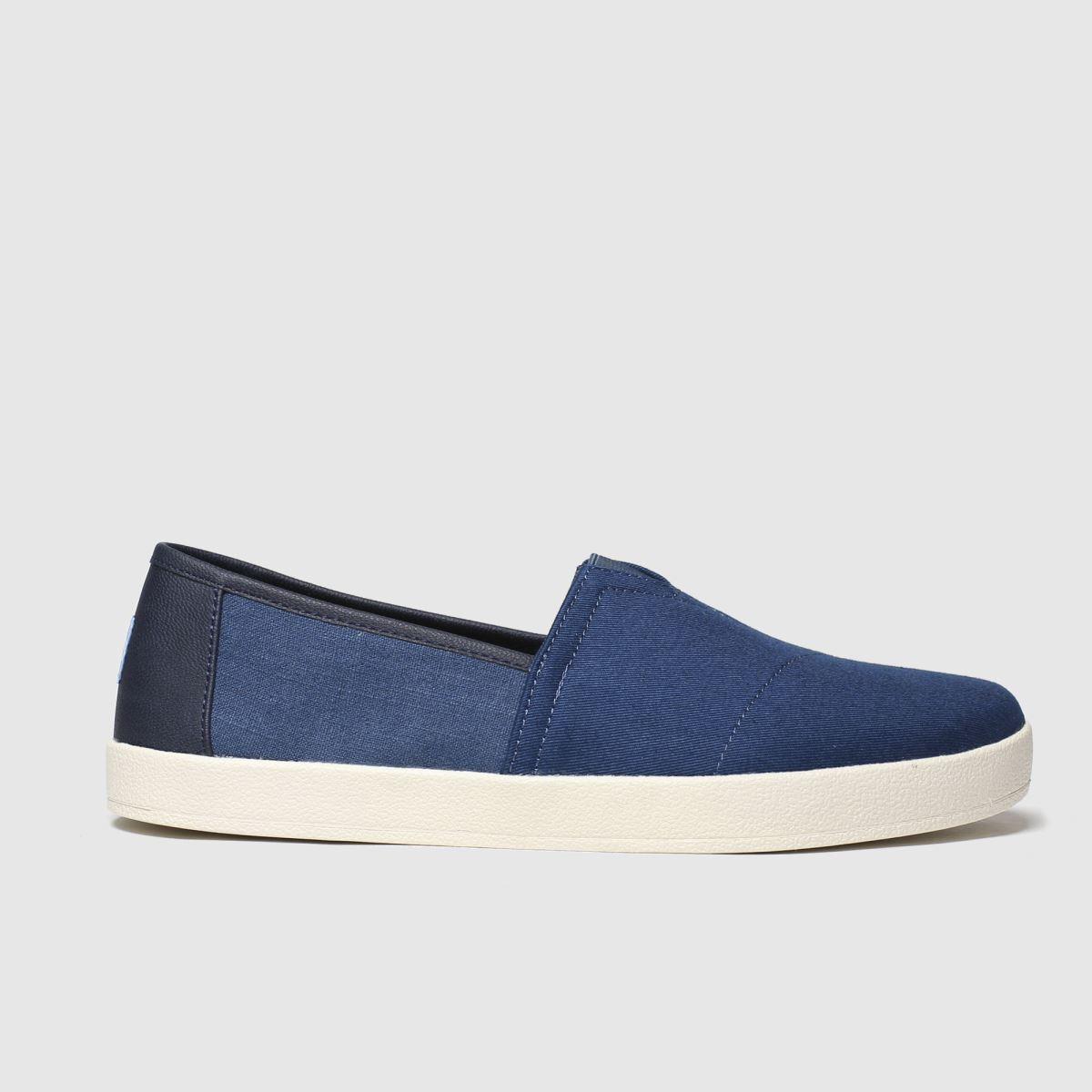 Toms Blue Avalon Shoes