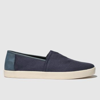 Toms Navy Avalon Mens Shoes