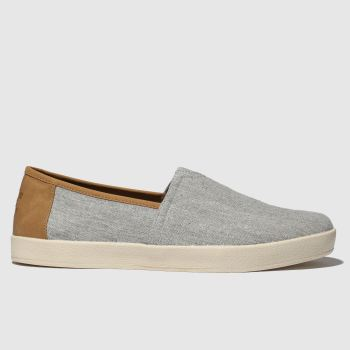 Toms Light Grey Avalon c2namevalue::Mens Shoes