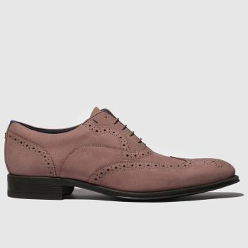 Ted Baker Pink Nelsnn Mens Shoes