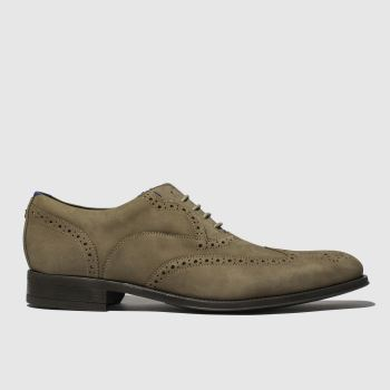 Ted Baker Grey Nelsnn Mens Shoes