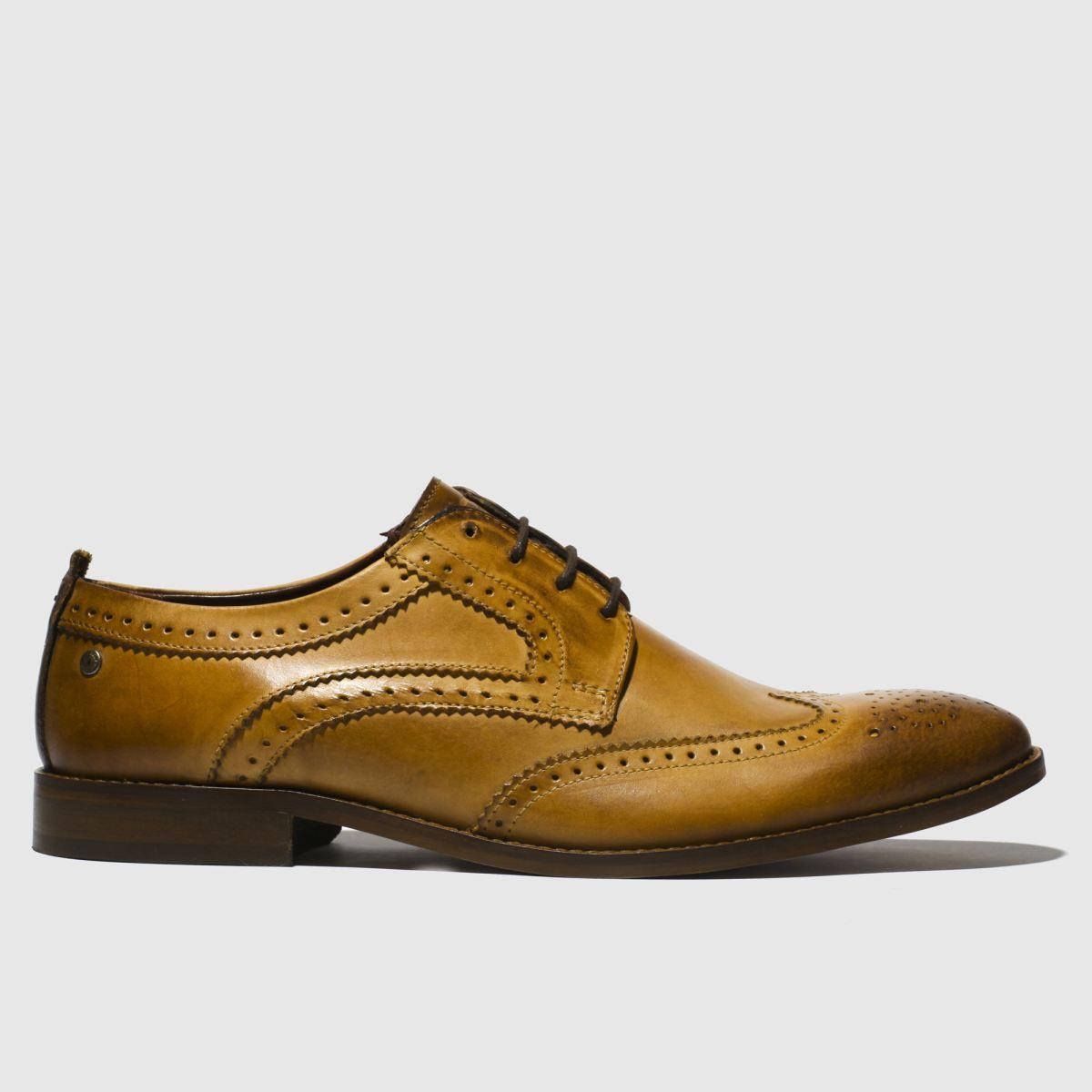 Base London Tan Motif Shoes