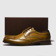 Mens Base Tan Motif London ShoesSchuh 4ARjL35