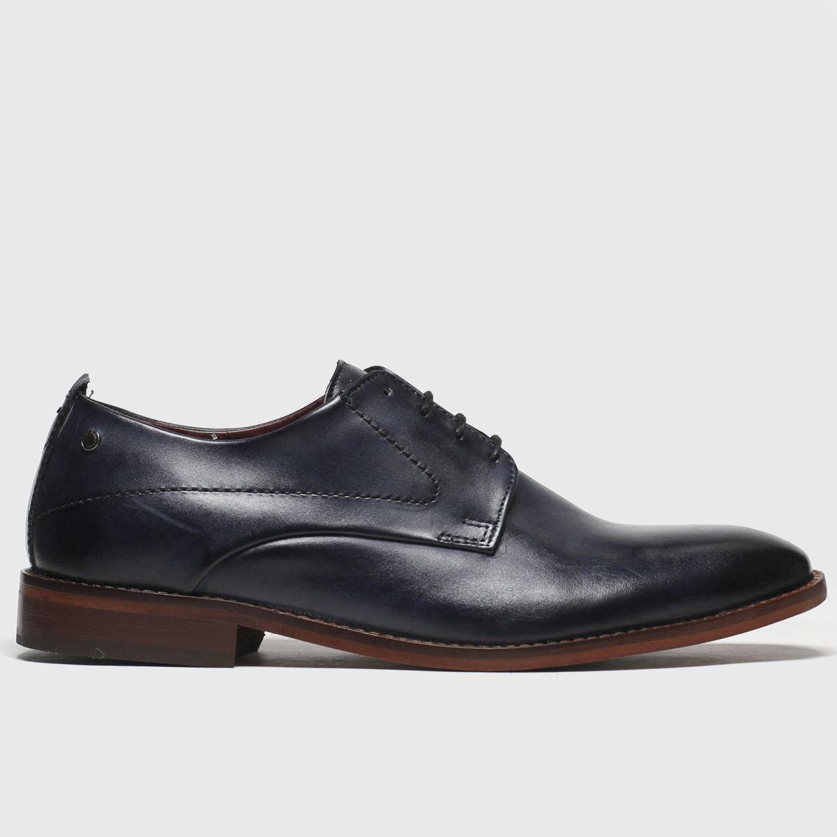 Base London Navy Script Shoes