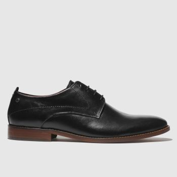 Base London Black Script Mens Shoes