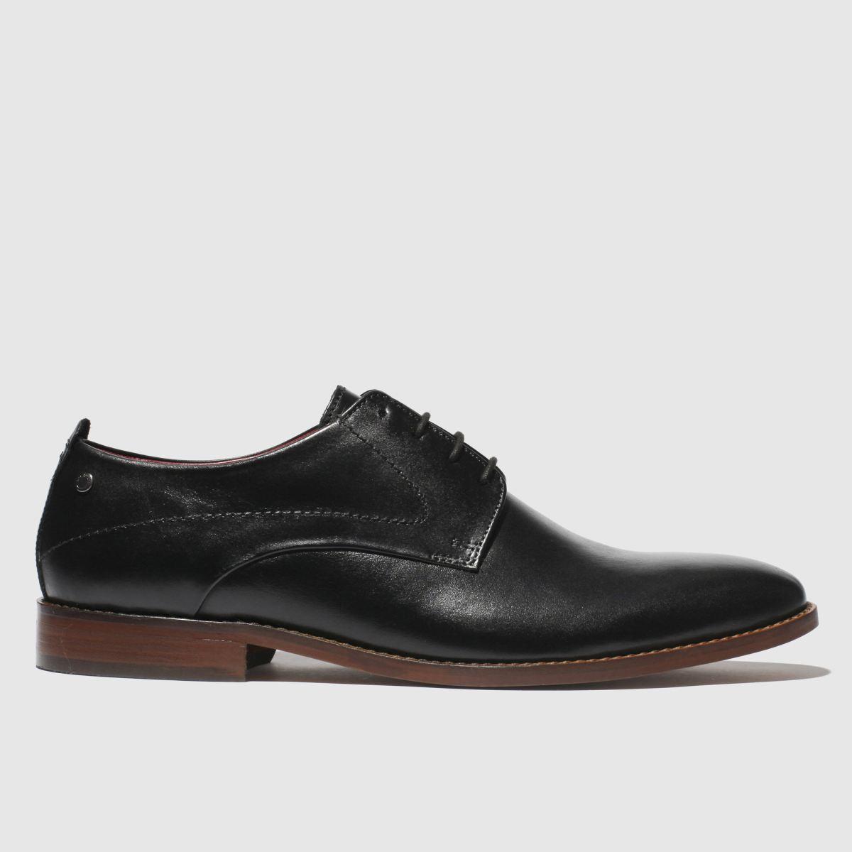 Base London Black Script Shoes