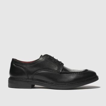 BASE LONDON BLACK CONSTABLE SHOES