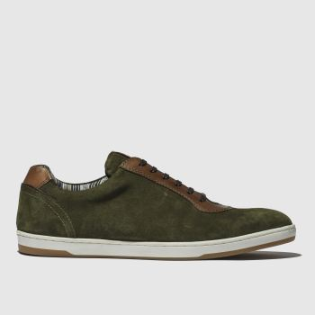 Base London Khaki Hustle Mens Shoes