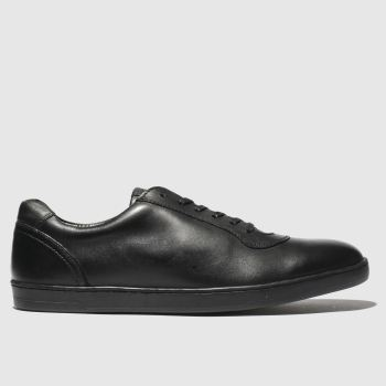 Base London Black Hustle Mens Shoes