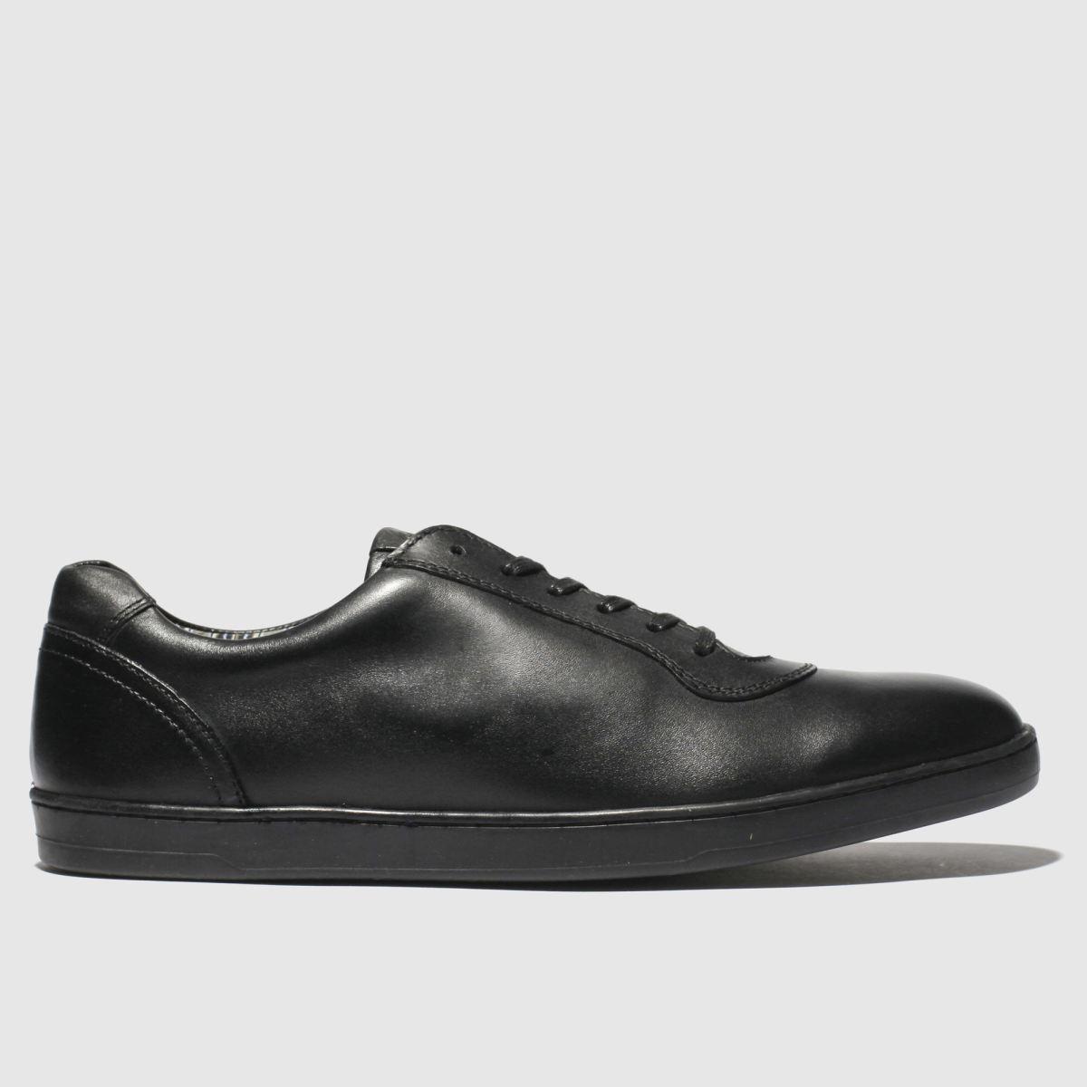 Base London Black Hustle Shoes