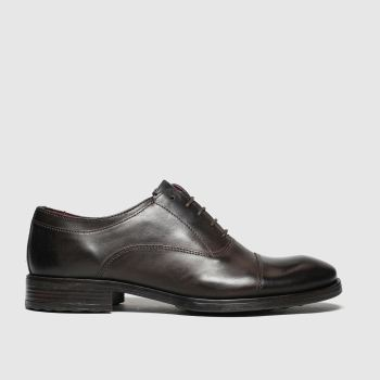 Base London Brown Beckett Mens Shoes