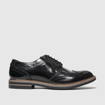 Base London Black Kent Mens Shoes