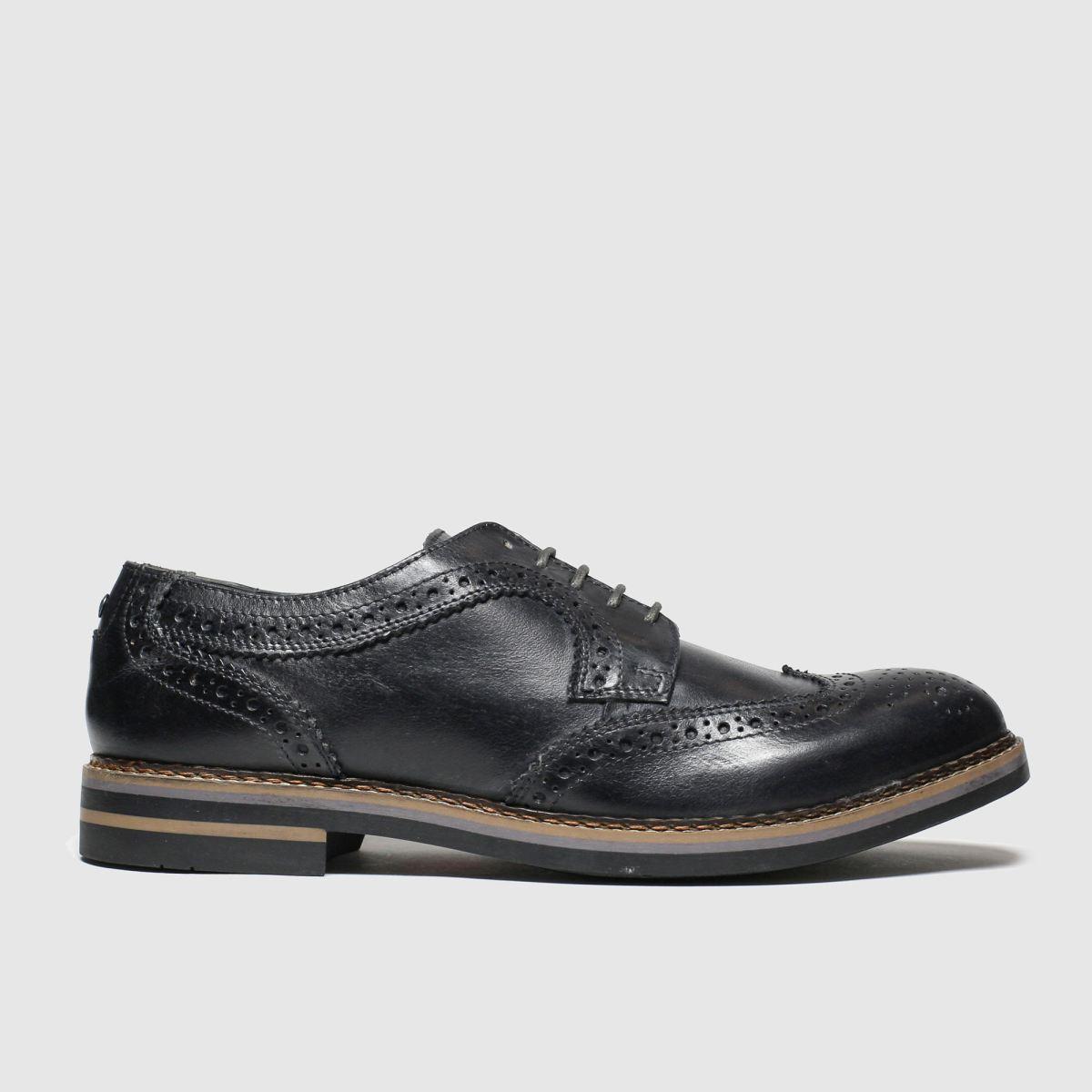 Base London Grey Kent Shoes