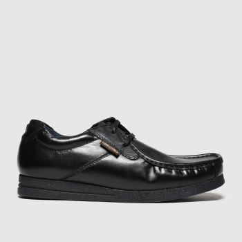 Base London Black Event Mens Shoes
