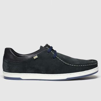 Base London Navy Dougie Mens Shoes