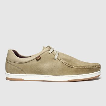 Base London Beige Dougie Mens Shoes