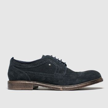 Base London Navy Onyx Shoes