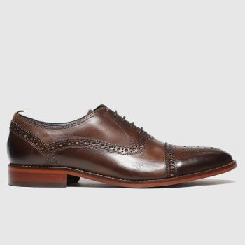Base London Brown Cast Mens Shoes