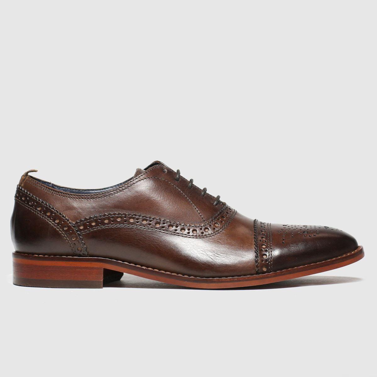Base London Brown Cast Shoes