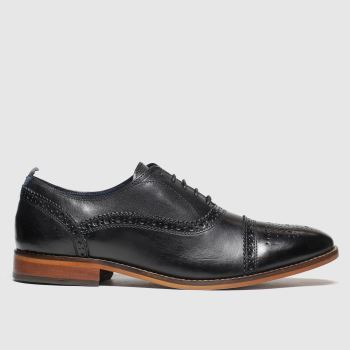 Base London Black Cast Mens Shoes